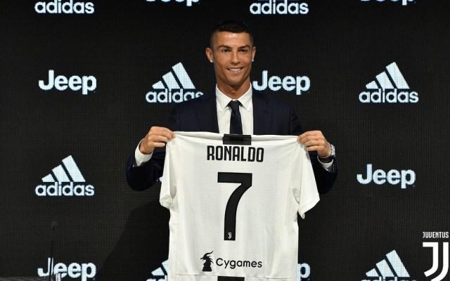 Ventas de camisetas de Ronaldo alcanzaron 62.4 mdd en un día - Foto de @juventusfc