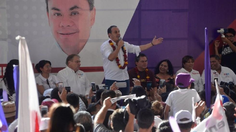 #Video Cuauhtémoc Blanco adelanta que ganó gubernatura de Morelos - Foto de @cuauhtemocb10