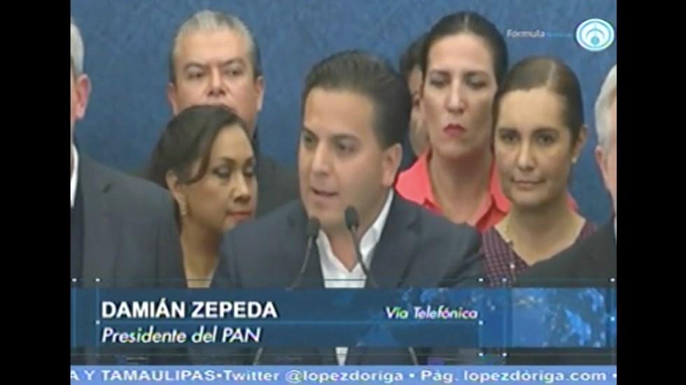 En octubre o noviembre habrá renovación de dirigencia del PAN: Zepeda