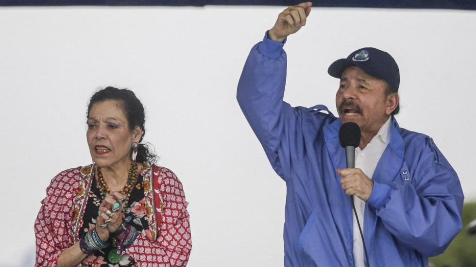 Ortega descarta adelantar elecciones en Nicaragua pese a presiones - Foto de Inti OCON / AFP