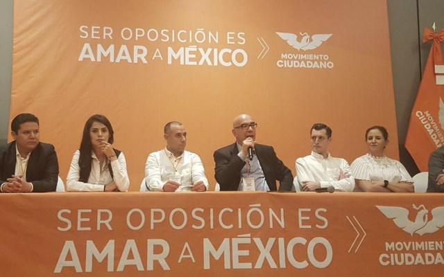 Dante Delgado será coordinador de Movimiento Ciudadano en el Senado - Foto de Twitter Dante Delgado