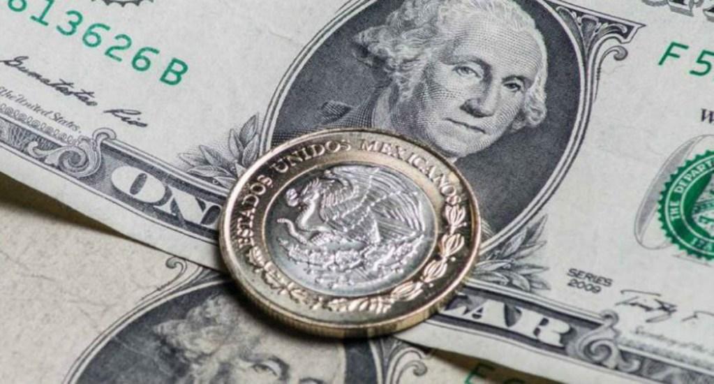 Repunta el peso mexicano por debilitamiento del dólar - Foto de internet