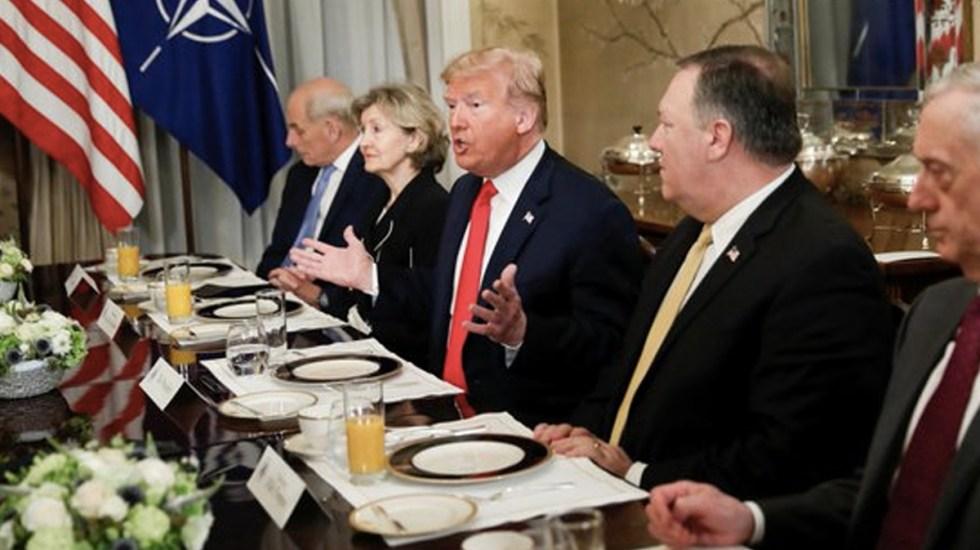 Trump arremete contra Alemania durante cumbre de la OTAN - Foto de ABC