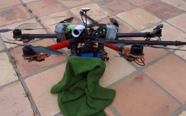 Granadas en dron no explotaron porque no se botó el seguro: secretario de Seguridad Pública - Foto de @Contraportada_r