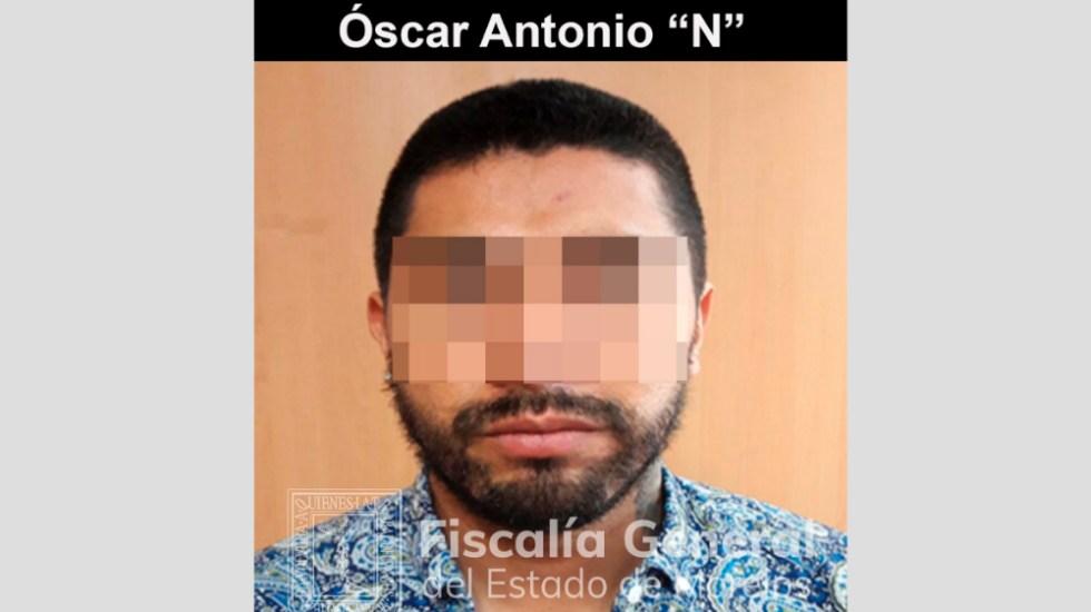 Dan 13 años de cárcel 'El Negro' por matar a joven en bar de Morelos - Foto de Fiscalía general de Morelos