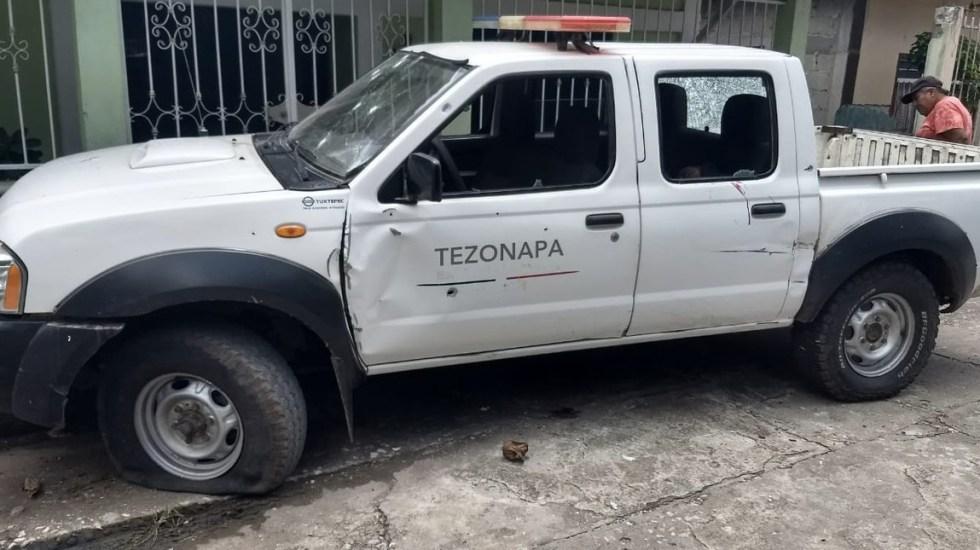 Ataque armado contra policías en Veracruz deja al menos cuatro muertos - Foto de @istmo_noticias