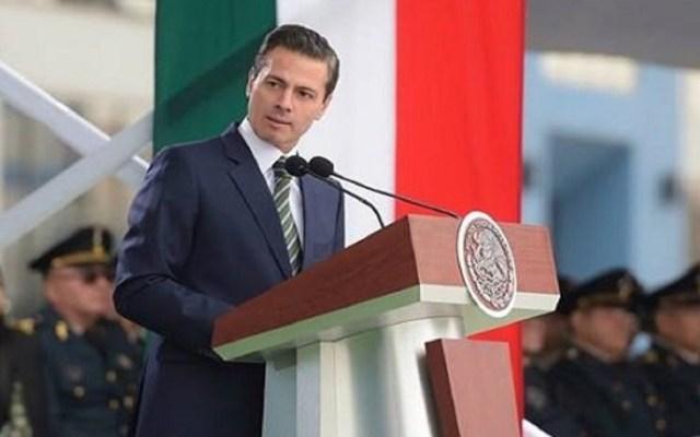 Enrique Peña Nieto aplaude integración de Canadá al USMCA - Enrique Peña Nieto. Foto de Twitter
