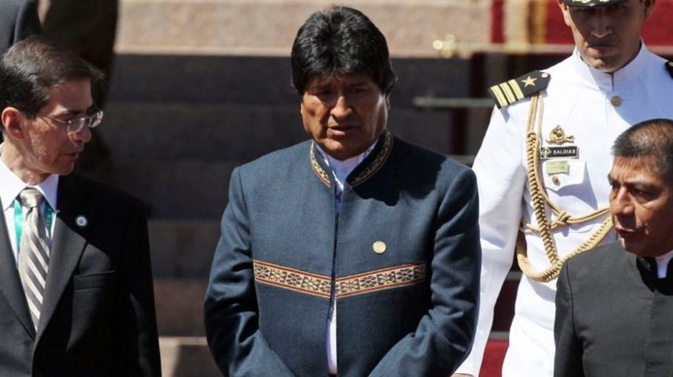 Realizan cirugía de emergencia a Evo Morales - Mar