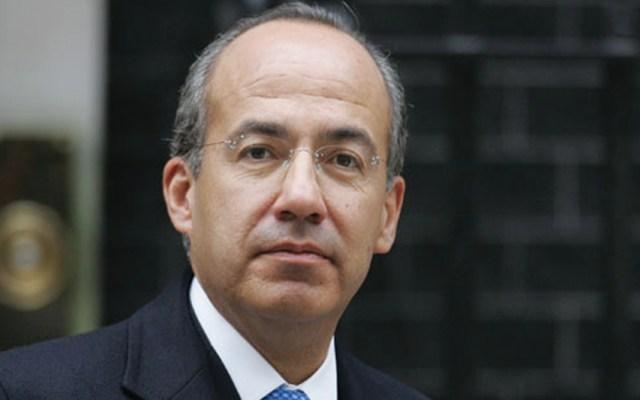 Calderón niega haber sacado al Ejército a las calles para legitimarse - Felipe Calderón, expresidente de México, Foto archivo.