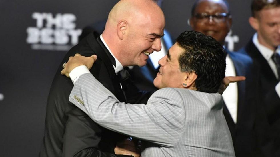 FIFA responde a declaraciones de Maradona