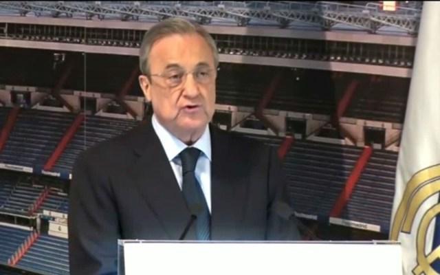 Real Madrid será reforzado con fantásticos jugadores: Florentino Pérez