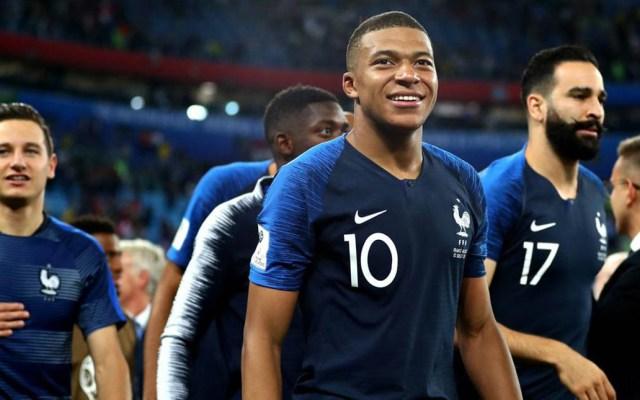 Francia tiene la selección más joven en ganar un Mundial de Futbol - Foto de internet