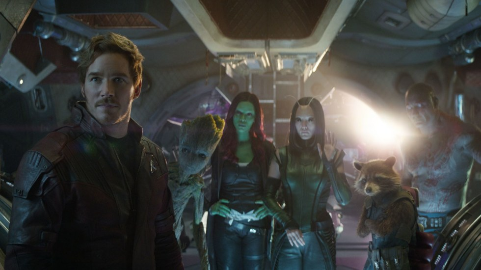 Elenco de 'Guardians of the Galaxy' apoya a su director James Gunn - Foto de Marvel