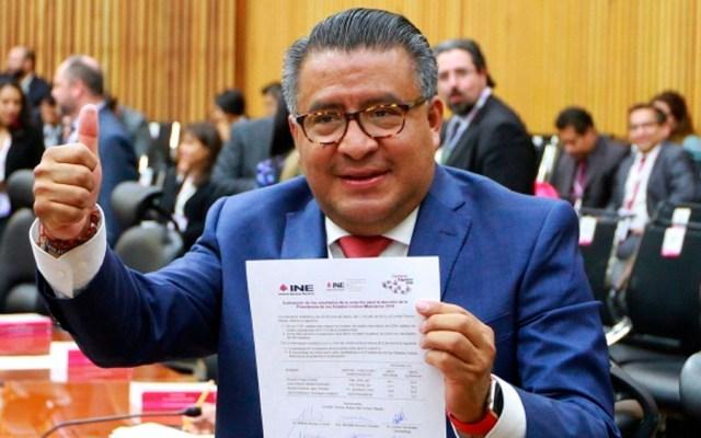 Morena impugnará elección en Puebla - Horacio Duarte. Foto de Notimex