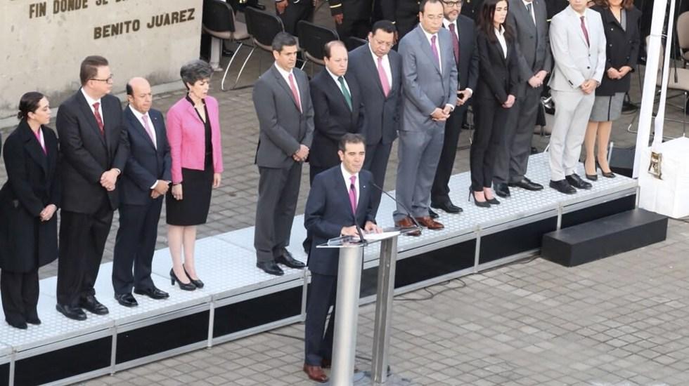 INE instala sesión por elecciones - Foto de INE