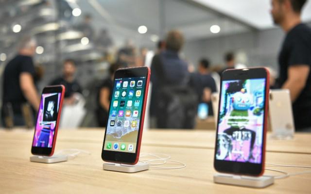 ¡Cuidado! El helio puede estropear tu iPhone o Apple Watch - Foto de AFP