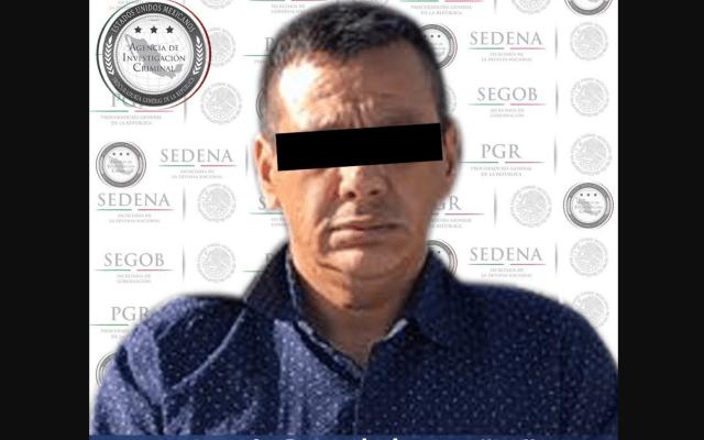 Detienen a implicado en desaparición de italianos en Jalisco - José Guadalupe. Foto de @PGR_MX