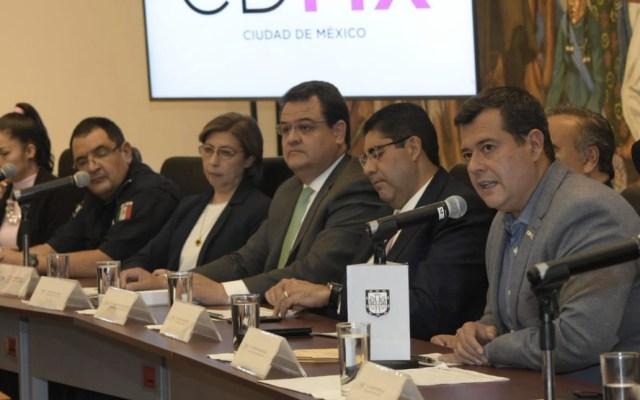 Ciudad de México no es una opción para venir a delinquir: Amieva - Foto de @amievajoserra