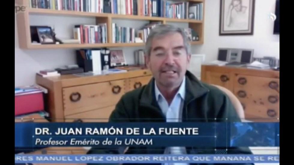 No hay que temerle a la democracia: Juan Ramón de la Fuente
