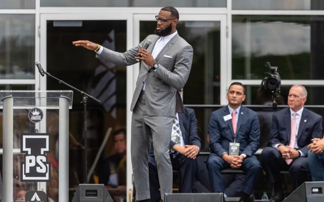 Trump utiliza el deporte para dividir a Estados Unidos: LeBron James - Foto de Jason Miller/Getty Images North America/AFP