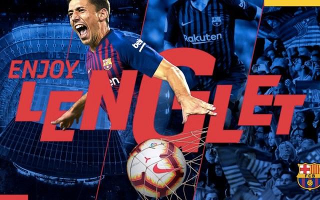 Barcelona contrata al francés Clément Lenglet - Foto de @FCBarcelona_es