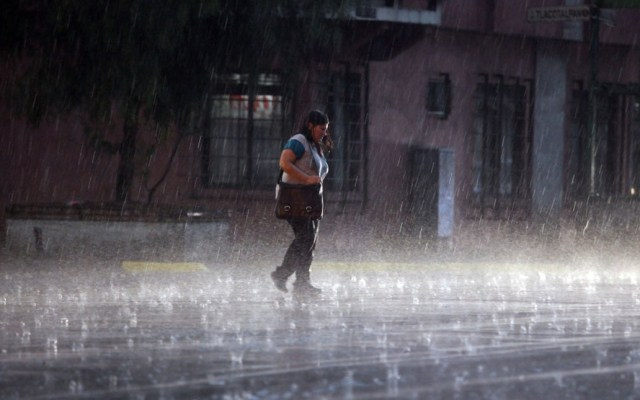 Alerta Naranja en cuatro delegaciones por lluvia; ya se registran afectaciones - Foto de internet