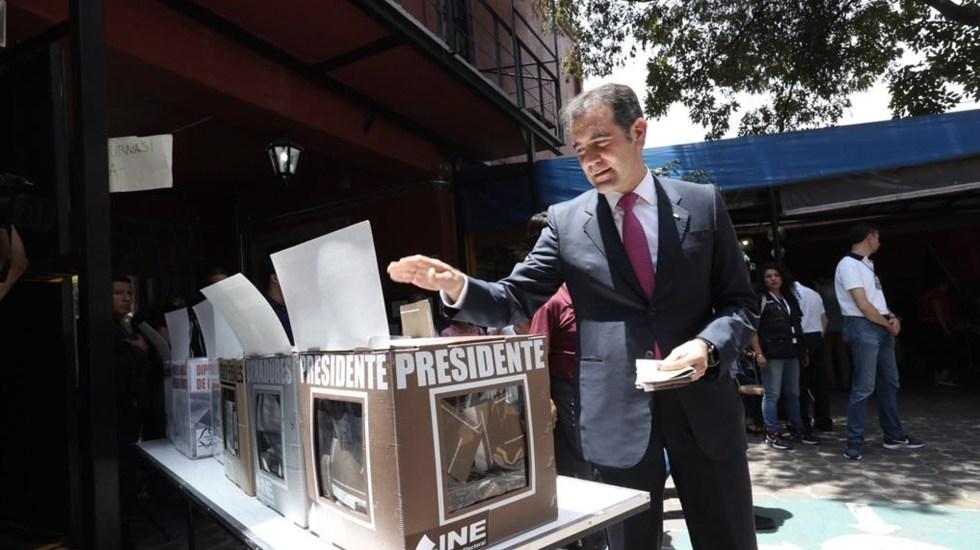 INE garantiza participación en comicios pese a recorte presupuestal - Foto de Twitter Lorenzo Córdova