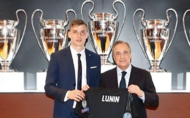 El Real Madrid presenta al portero ucraniano Andriy Lunin - Foto de Real Madrid