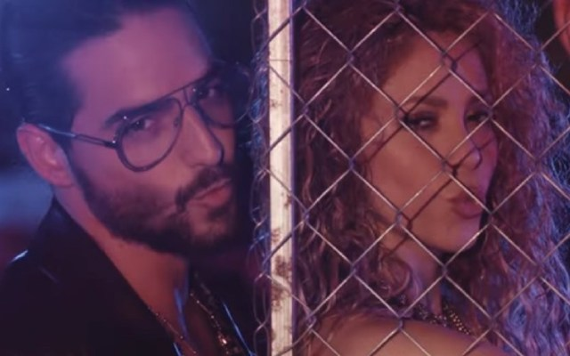 "Shakira y Maluma estrenan video de ""Clandestino"" - Foto Captura de Pantalla"