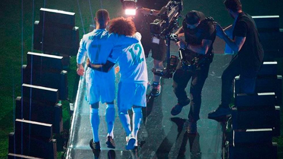 Marcelo se despide de Cristiano Ronaldo