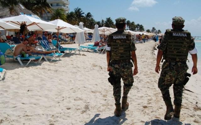 Despliegan 4 mil elementos de Marina a las playas de México