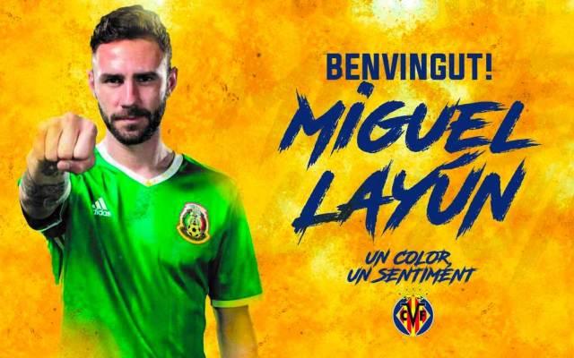 Aplazan presentación de Layún con Villarreal tras incidente de avión - Foto de @VillarrealCF