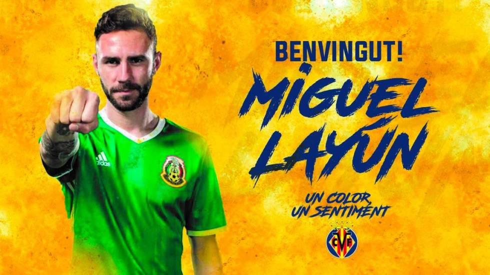 Miguel Layún jugará en el Villarreal - Foto de @VillarrealCF