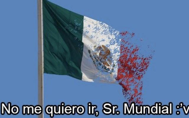 Los memes de la eliminación de México - Foto de Internet