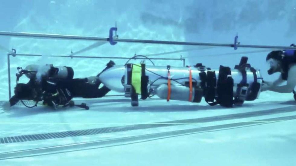 Submarino de Musk no era útil para el rescate: Osatanakorn