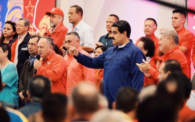 Maduro asegura que apagón masivo fue sabotaje - Foto de Twitter Nicolás Maduro