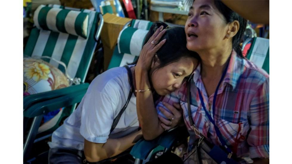 Tailandia acelera rescate de niños atrapados en cueva