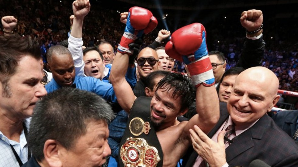 Manny Pacquiao quiere una revancha con Floyd Mayweather - Foto de Internet