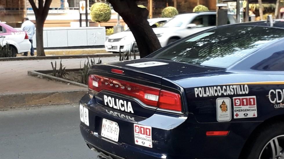 Refuerzan seguridad en Polanco tras presuntas extorsiones de La Unión de Tepito - Foto de @dariogr1