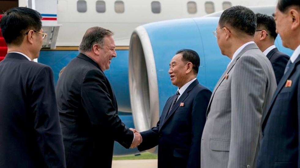 Mike Pompeo llega a Corea del Norte para analizar desnuclearización - Foto de AP