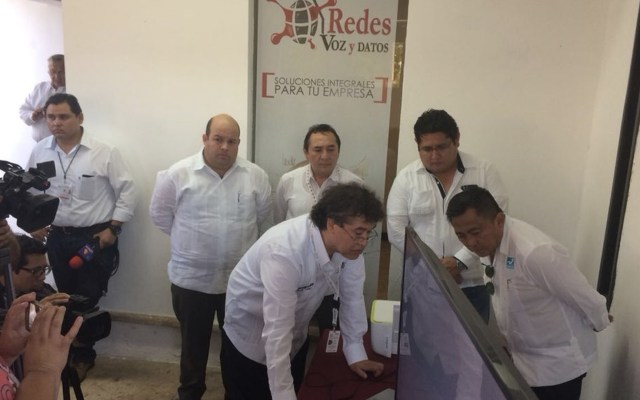 PREP de Yucatán presenta fallas - Foto de IEPAC Yucatán