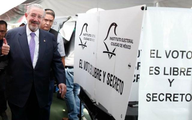 Presidente de la SCJN emite su voto y llama a mexicanos a participar - Foto de @SCJN
