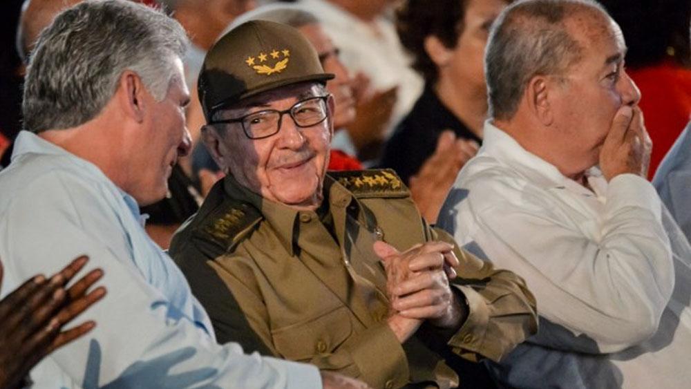 Castro afirma que EE.UU. estrecha cerco sobre Cuba, Venezuela y Nicaragua - Foto de Yamil LAGE / AFP