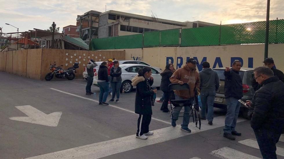 Notificarán en periódico de demanda a directora del Rébsamen - Foto de Twitter