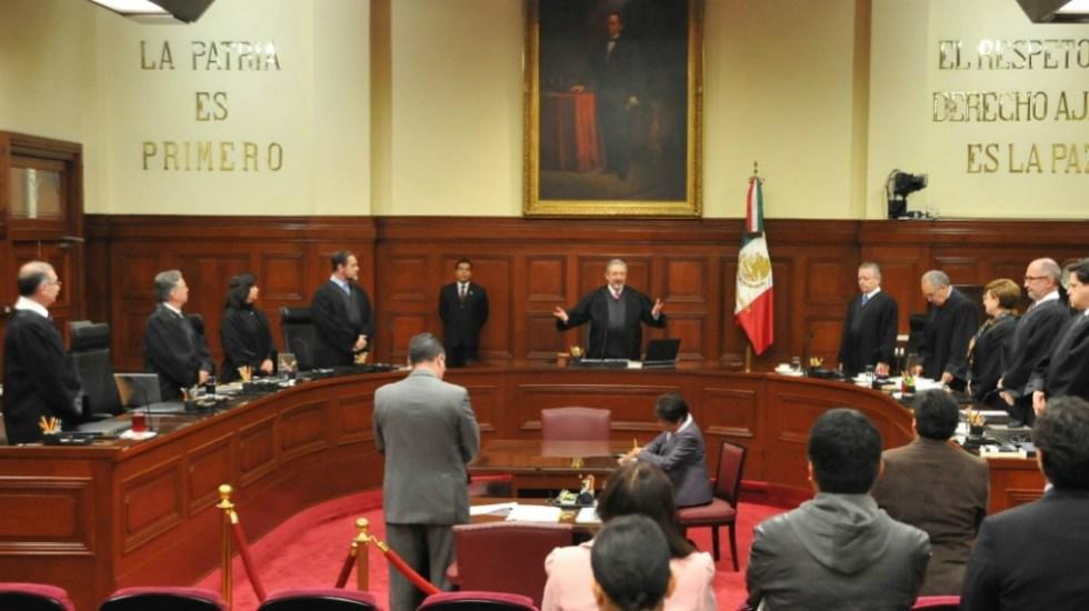 Felicita Poder Judicial a López Obrador - Foto de @CanalJudicial