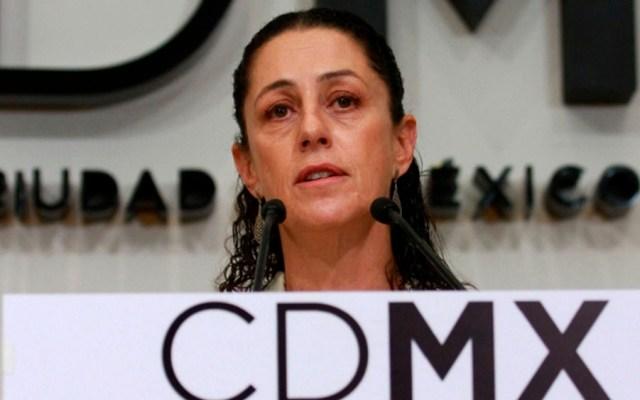 Amieva tendrá que buscar más recursos para reconstrucción: Sheinbaum - Jefa de Gobierno electa de la CDMX. Foto de Notimex