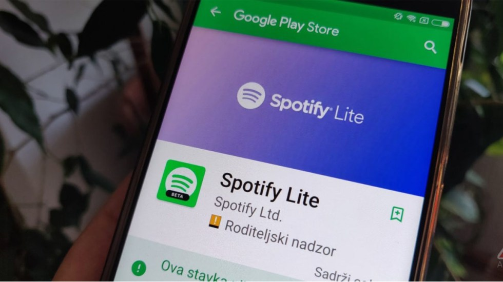 Spotify lanza versión lite para Android
