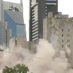 #Video Demuelen edificio en menos de 10 segundos en Tennessee