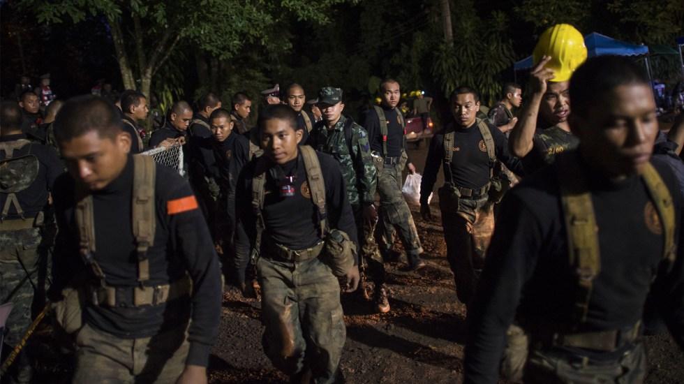 Muere socorrista en rescate de niños atrapados en cueva de Tailandia - Foto de AFP/Ye Aung Thu