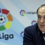 Ronaldo se ha ido de La Liga por un tema fiscal: Javier Tebas